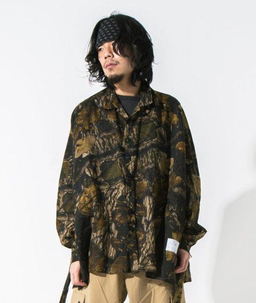 [予約商品] EFFECTEN(エフェクテン) instead poncho shirts