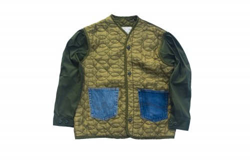 U-BY EFFECTEN(ユーバイエフェクテン)remake quilting liner jacket