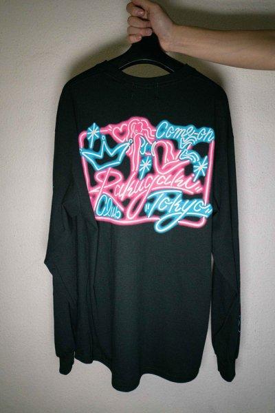 """[予約商品] RAKUGAKI(ラクガキ) Rakugaki """"NEON SIGN"""" Long T-Shirts"""
