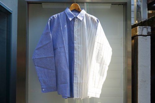 U-BY EFFECTEN(ユーバイエフェクテン)crazy stripe shirts