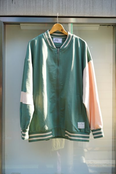 U-BY EFFECTEN(ユーバイエフェクテン) N/H letterman jacket