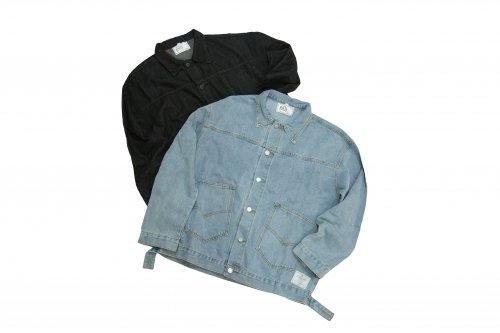 U-BY EFFECTEN(ユーバイエフェクテン)cherry pick denim jacket