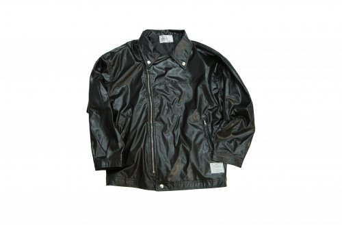 U-BY EFFECTEN(ユーバイエフェクテン)faux lather riders jacket