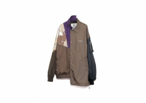 elephant TRIBAL fabrics (エレファントトライバルファブリックス ) / HYBRID JKT(A)(BROWN)