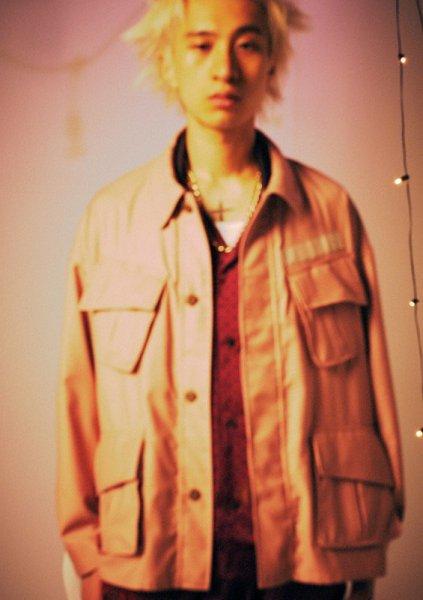 elephant TRIBAL fabrics (エレファントトライバルファブリックス ) / Reversible fatigue JKT DUSTY PINK (ペイズリー柄)