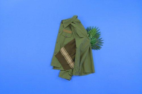 elephant TRIBAL fabrics (エレファントトライバルファブリックス ) / Knit docking out of alignment JKT(A)