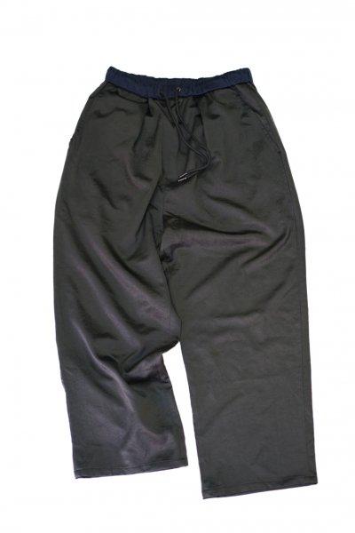 U-BY EFFECTEN(ユーバイエフェクテン) satin EZ wide pants