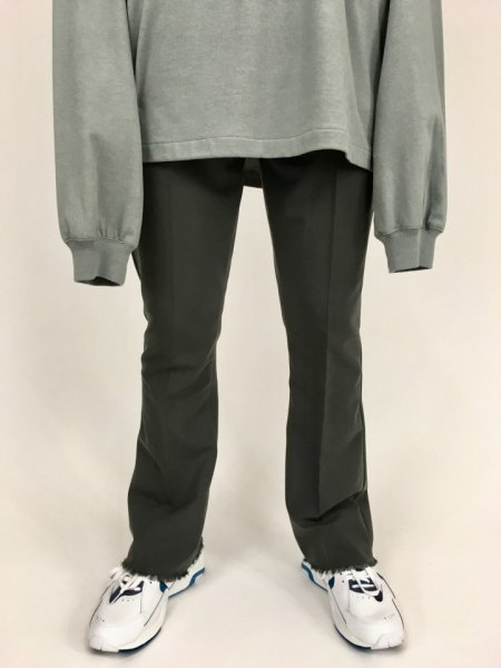 RICE NINE TEN (ライスナインテン) CUT OFF BOOTSCUT SLACKS