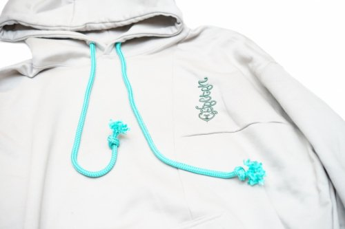 EFFECTEN(エフェクテン)  same color crazy pattern hoodie