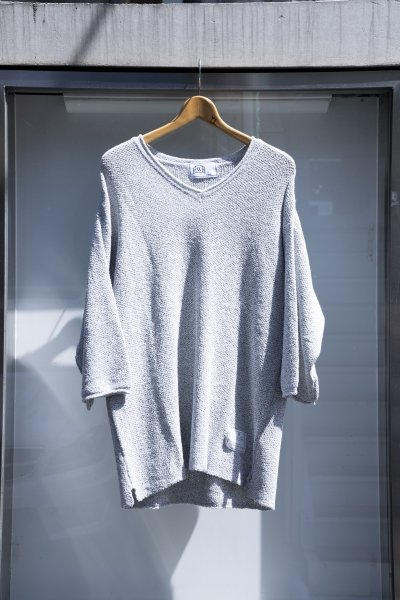 U-BY EFFECTEN(ユーバイエフェクテン) V neck summer knit