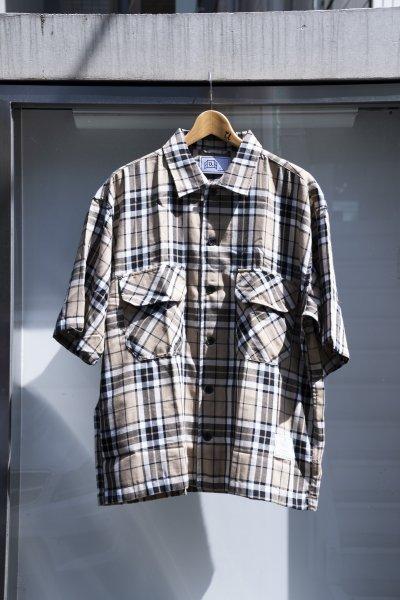 U-BY EFFECTEN(ユーバイエフェクテン) s/s check shirts