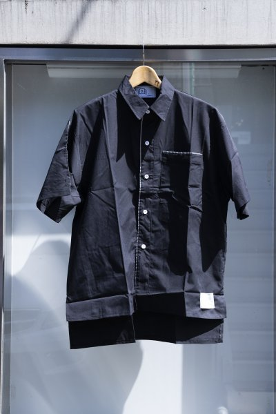 U-BY EFFECTEN(ユーバイエフェクテン) s/s piping shirts