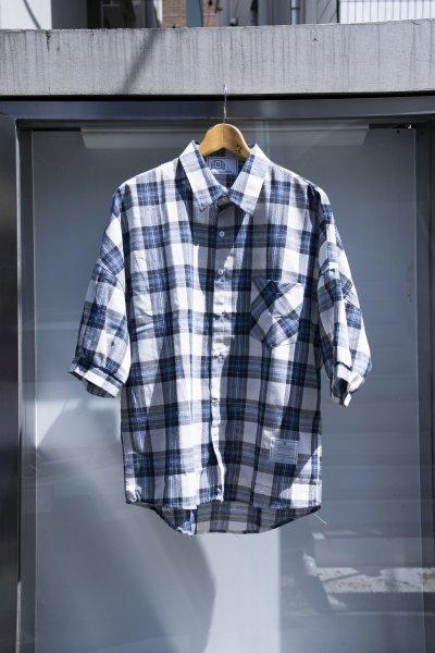 U-BY EFFECTEN(ユーバイエフェクテン) 1/2 check shirts