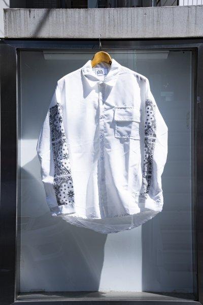 U-BY EFFECTEN(ユーバイエフェクテン)paisley L/S shirts