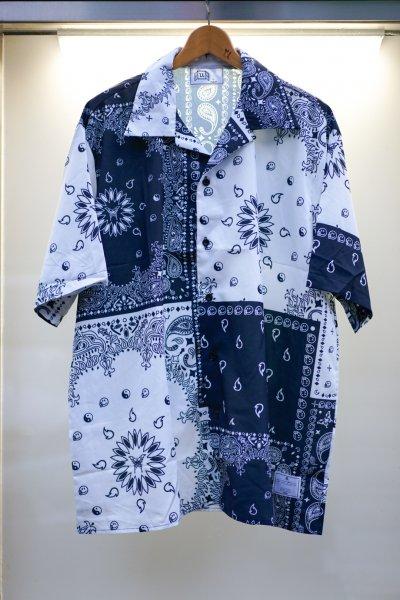 U-BY EFFECTEN(ユーバイエフェクテン)Paisley o/c shirts