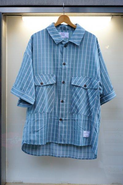 U-BY EFFECTEN(ユーバイエフェクテン)check over shirts