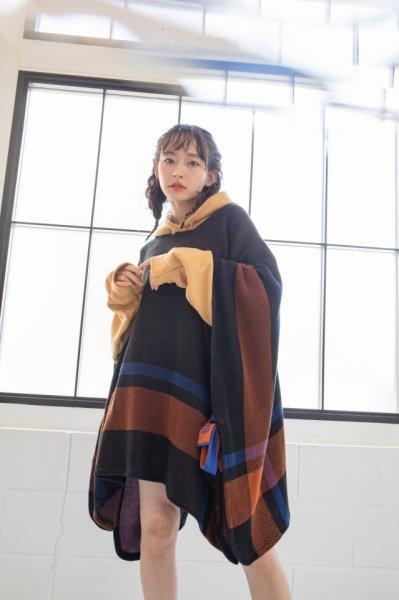 [予約商品] EFFECTEN(エフェクテン) St. Pitts knit poncho