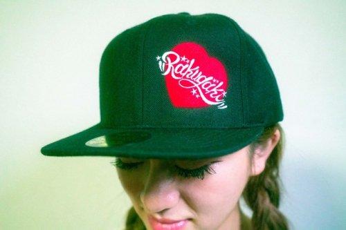 "[予約商品] RAKUGAKI / 2021 ""HEART"" Logo Snap Back Cap"
