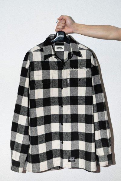 [予約商品] RAKUGAKI / Rakugaki BUFFALO CHECK Embroidery Shirts