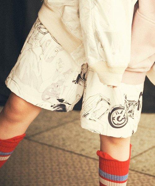 [予約商品2022Spring&summer] SEVESKIG/セブシグ/ MANY GIRLS SHORT PANTS