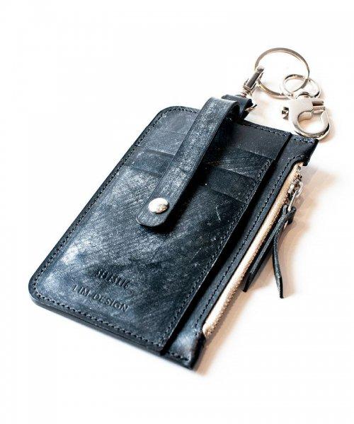 [予約商品2022Spring&summer] SEVESKIG/セブシグ/ Bridle leather Card coin case
