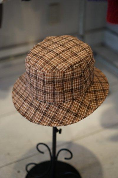 U-BY EFFECTEN(ユーバイエフェクテン)  check bucket hat