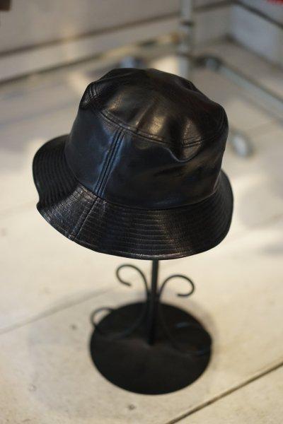 U-BY EFFECTEN(ユーバイエフェクテン)  leather bucket hat
