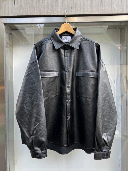 U-BY EFFECTEN(ユーバイエフェクテン) neat leather shirts