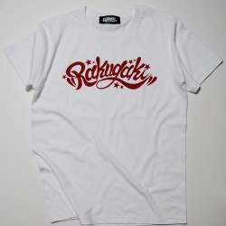 RAKUGAKI /楽書き  RAKUGAKI Main logo T-Shirts    WHITE×RED  NAVY x WHITE
