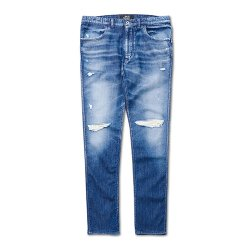 <img class='new_mark_img1' src='//img.shop-pro.jp/img/new/icons38.gif' style='border:none;display:inline;margin:0px;padding:0px;width:auto;' />SAY(セイ)  DAMAGED SKINNY JOG DENIM