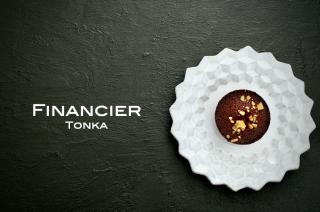 トンカ豆のフィナンシェ
