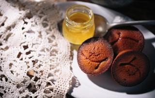 蜂蜜のフィナンシェ