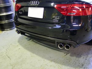 -balance it-  Rear Diffuser  Audi A5 (8T) facelift Sportback