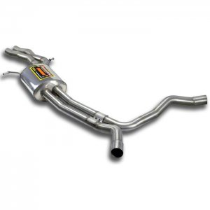-Supersprint-Audi   A7 SPORTBACK QUATTRO 3.0 TFSI V6 (300 Hp) '11 -> '12  センターパイプ(サブタイコ付き)
