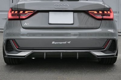 <img class='new_mark_img1' src='https://img.shop-pro.jp/img/new/icons8.gif' style='border:none;display:inline;margin:0px;padding:0px;width:auto;' />-balance it- Rear  Diffuser センター Audi A1(GB) Sline