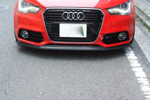 -balance it- Front Lip Spoiler   Audi A1 (8X)