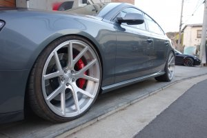 -balance it- Side  Skirts   Audi S5/A5 (8T) Sportback