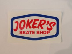 <img class='new_mark_img1' src='https://img.shop-pro.jp/img/new/icons14.gif' style='border:none;display:inline;margin:0px;padding:0px;width:auto;' />JOKER'S SKATE SHOP(ジョーカーズスケートショップ)Logo Sticker #2