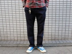 <img class='new_mark_img1' src='//img.shop-pro.jp/img/new/icons14.gif' style='border:none;display:inline;margin:0px;padding:0px;width:auto;' />BLUCO(ブルコ)Slim Work Pants Stretch/OL-063E-018/Navy