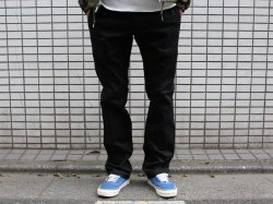 <img class='new_mark_img1' src='//img.shop-pro.jp/img/new/icons14.gif' style='border:none;display:inline;margin:0px;padding:0px;width:auto;' />BLUCO(ブルコ)Slim Work Pants Stretch/OL-063E-018/Black