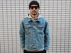 <img class='new_mark_img1' src='//img.shop-pro.jp/img/new/icons14.gif' style='border:none;display:inline;margin:0px;padding:0px;width:auto;' />BRIXTON(ブリクストン)Cable Denim Jacket/Faded Indigo