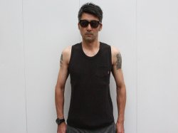 <img class='new_mark_img1' src='//img.shop-pro.jp/img/new/icons14.gif' style='border:none;display:inline;margin:0px;padding:0px;width:auto;' />BLUCO(ブルコ)Thermal Tanktop/OL-702-018/Black