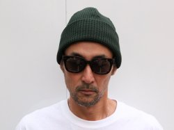 <img class='new_mark_img1' src='//img.shop-pro.jp/img/new/icons24.gif' style='border:none;display:inline;margin:0px;padding:0px;width:auto;' />JACKMAN(ジャックマン)Waffle Knit Cap/JM6605/Dark Green