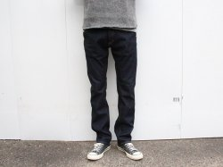 <img class='new_mark_img1' src='https://img.shop-pro.jp/img/new/icons14.gif' style='border:none;display:inline;margin:0px;padding:0px;width:auto;' />BLUCO(ブルコ)Slim Denim Pants-Stretch/OL-029E/Indigo
