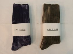 <img class='new_mark_img1' src='https://img.shop-pro.jp/img/new/icons14.gif' style='border:none;display:inline;margin:0px;padding:0px;width:auto;' />CAL O LINE(キャルオーライン)Tie Dye Socks-B