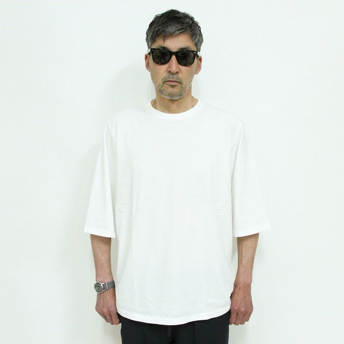 <img class='new_mark_img1' src='https://img.shop-pro.jp/img/new/icons14.gif' style='border:none;display:inline;margin:0px;padding:0px;width:auto;' />JACKMAN(ジャックマン)1/2 Sleeve T-Shirts/JM5930/White