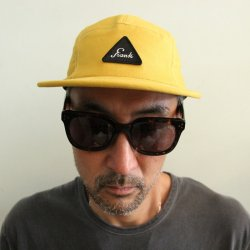 <img class='new_mark_img1' src='https://img.shop-pro.jp/img/new/icons14.gif' style='border:none;display:inline;margin:0px;padding:0px;width:auto;' />FRANK(フランク)Cotton Jet Cap/Mustard
