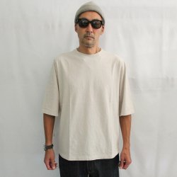 <img class='new_mark_img1' src='https://img.shop-pro.jp/img/new/icons14.gif' style='border:none;display:inline;margin:0px;padding:0px;width:auto;' />JACKMAN(ジャックマン)1/2 Sleeve T-Shirts/JM5930/Drop Gray