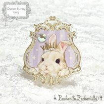 <img class='new_mark_img1' src='//img.shop-pro.jp/img/new/icons50.gif' style='border:none;display:inline;margin:0px;padding:0px;width:auto;' />Queen Bunny Ring(ラベンダー)