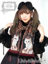 Queen Cat 〜秘密の書斎〜 マフラー(黒)